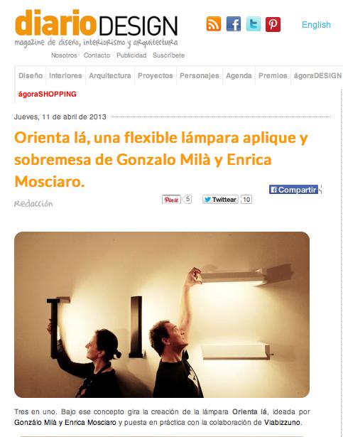 Orienta-la by Gonzalo Milà and Enrica Mosciaro